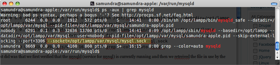 Solved] ERROR 2002 (HY000): Can't connect to local MySQL